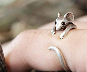 ring, mouse, and jewelry image