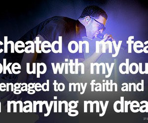 Drake, quote, and Dream image
