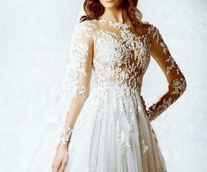 dress, white, and wonderful image