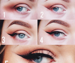 beauty, how to, and eyeshaddow image