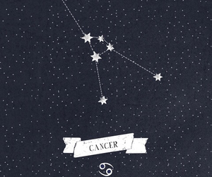 cancer, stars, and constellation image
