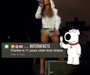 fact, tumblr, and ariana image