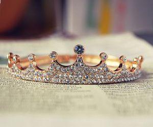 crown, princess, and ring image