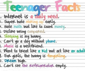 teenager, fact, and true image