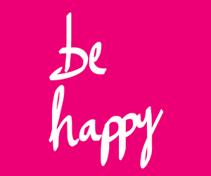 happy, liebe, and pink image