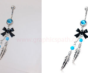 retouching, remove background, and jewelry photo editing image
