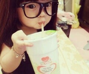 chubby, glasses, and cute kid image