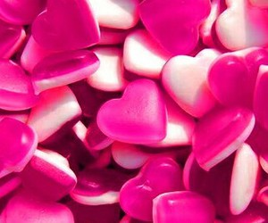 candy, cute, and hearts image