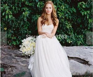 beach wedding dresses image