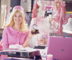 pink and legally blonde image