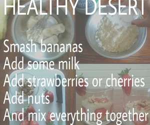 banana, desert, and nuts image