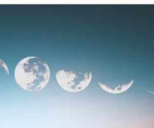 moon, sky, and alternative image