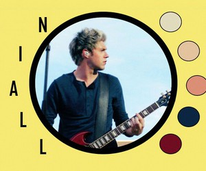 niall horan, one direction, and n i a l l image