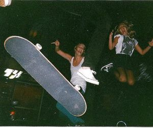 girl, party, and skate image
