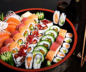 food, japan, and mouth watering image