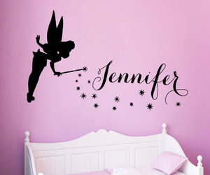 fairy girl and wall decals image