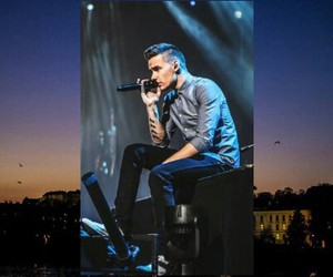 concert, liam payne, and lights image