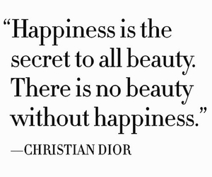 happiness, beauty, and quote image