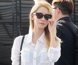 snsd, yoona, and blonde image