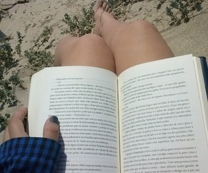 beach, read, and summer image