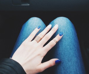 blue, grunge, and jeans image