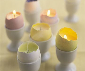 candle and eggs image
