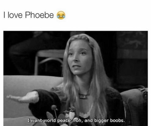 blonde, funny, and phoebe image