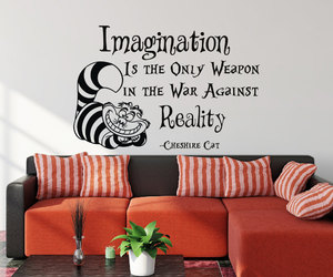 alice in wonderland, home decor, and imagination image