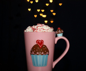 cupcake, cute, and cup image