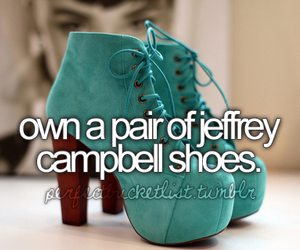 shoes, jeffrey campbell, and before i die image