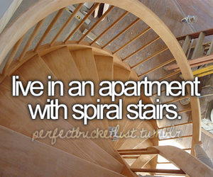stairs, apartment, and before i die image
