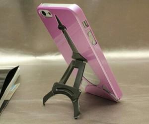 iphone, pink, and paris image