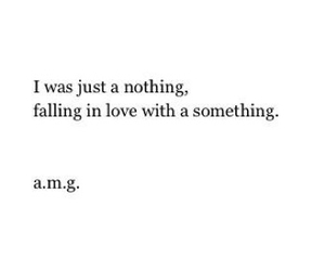 love, nothing, and quote image
