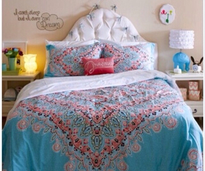 bethany mota, bedroom, and bed image