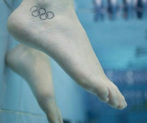olympics, swimming, and olympic day image