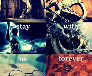 harry potter, percy jackson, and narnia image