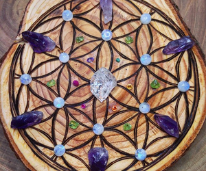 crystals, pagan, and wicca image