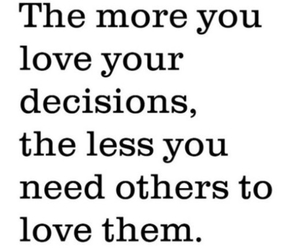 quotes, decisions, and life image