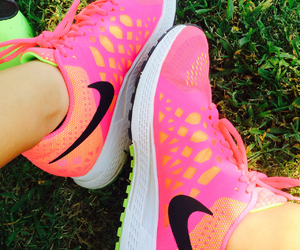 fitness, pink, and neon image