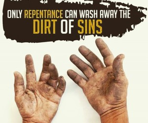 islam, repent, and islamic quotes image