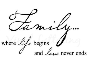 family, love, and life image