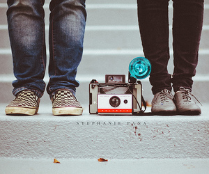 camera, shoes, and hipster image