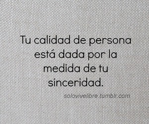 sinceridad and frases image
