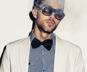 bow tie, menswear, and models image