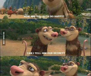funny, stupid, and ice age image