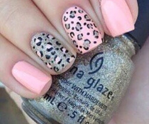 leopard, nails, and cute image