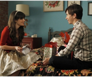 zooey deschanel, new girl, and justin long image