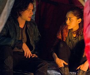 the 100, finn collins, and raven reyes image