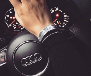 audi, car, and driving image