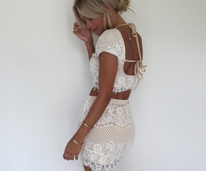 amazing, backless, and bohemian image